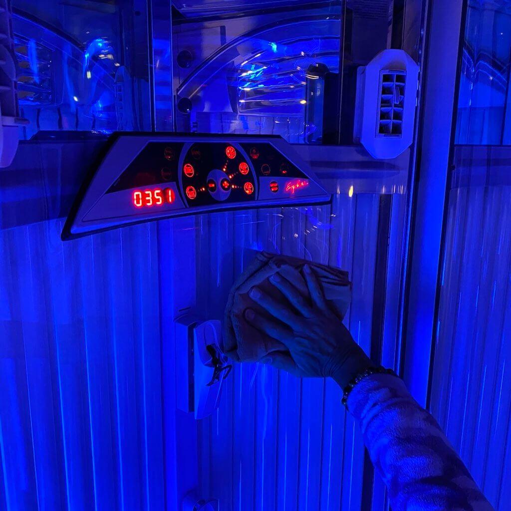 日焼けサロンBRIGHT-衛生2